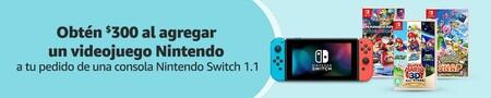 Oferta de Nintendo Switch en Amazon México por Hot Sale 2021