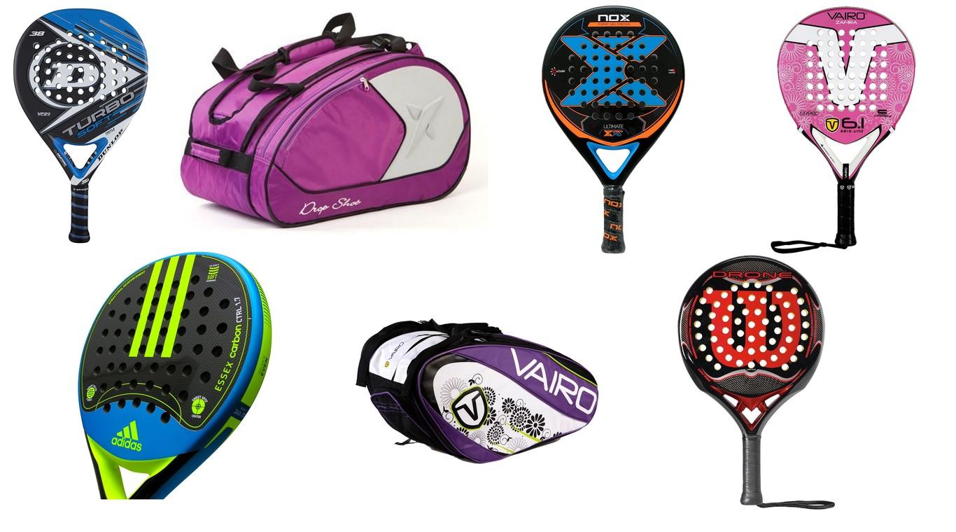 fb4661a7 7 ofertas en palas y bolsas de pádel en Amazon: descuentos en Wilson,  Adidas, Vaio o Dunlop sólo hoy