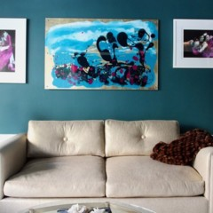 Foto 4 de 6 de la galería un-salon-en-azul en Decoesfera