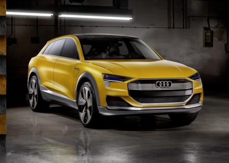 Audi h-tron quattro, el concepto que se maneja solo y se mueve con hidrógeno