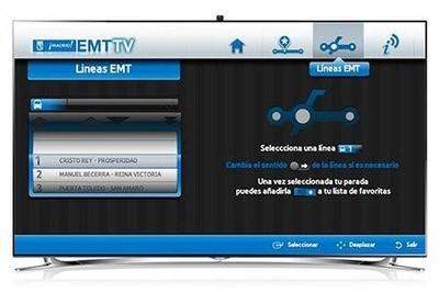 El transporte público en Madrid llega hasta el salón de casa gracias a Samsung Smart TV