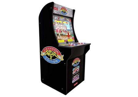 Una recreativa de los ochenta en tu habitación por 358 euros: Arcade 1Up Street Fighter en oferta hoy en Amazon