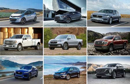 Estos son los finalistas para ganar el North American Car, Truck and Utility Vehicle of the Year 2017