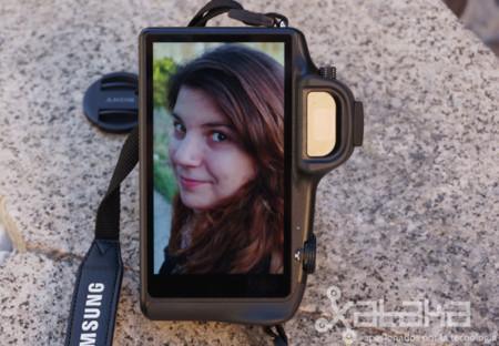 Samsung Galaxy NX Prueba