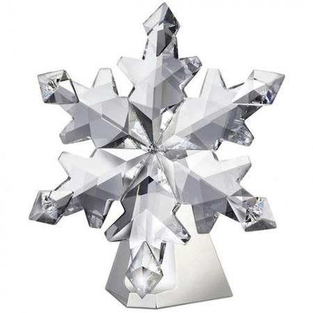 Edición limitada de copos de nieve de Swarovski para esta Navidad