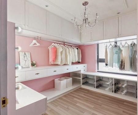 vestidores de lujo menos decoracin para guardar ms cosas - Vestidores De Lujo