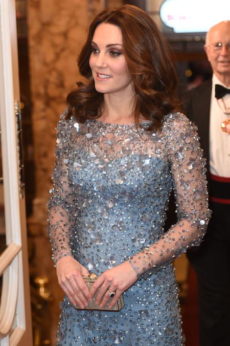 Kate Middleton y el perfecto look premamá de fiesta