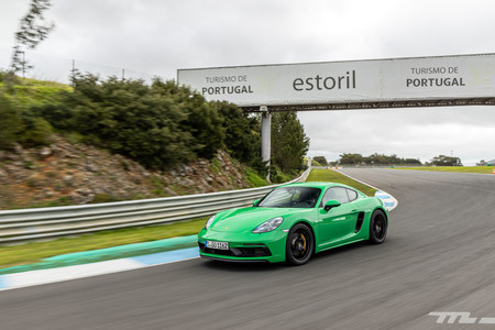 Porsche 718 Cayman GTS 2020 en Estoril