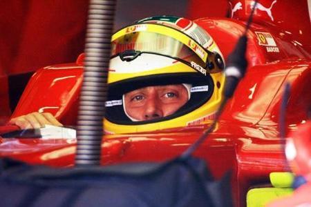 Luca Badoer se conforma con acabar el GP de Europa
