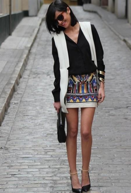 famosas con minifalda