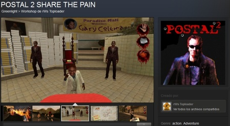 Si queréis que 'Postal 2: Share The Pain' salga en Steam podéis decir la vuestra a través de Steam Greenlight