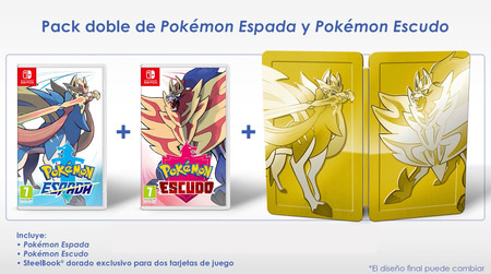 Pokemon Espada Y Escudo Pack Doble