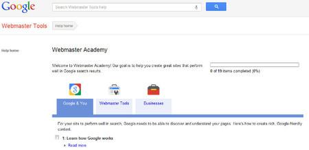 Google Webmaster Academy te facilita recursos para optimizar las páginas web