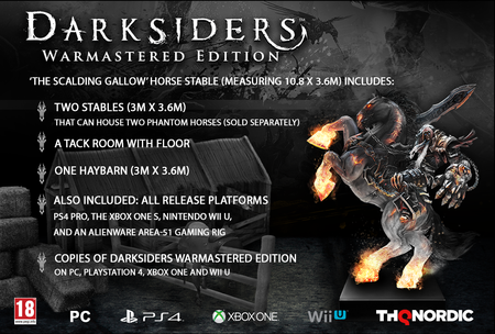 Darksiders Warmastered Edition Edicion Coleccionista
