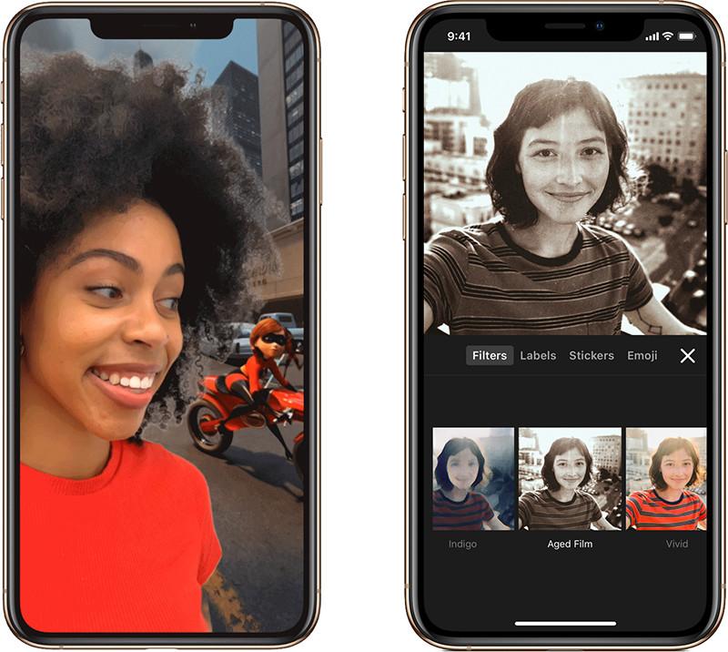 🤳 Estas son las novedades de la actualización de Clips para iOS