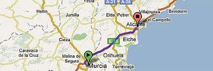 N-340 Alicante-Murcia
