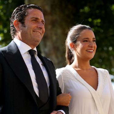 Así ha sido el vestido de novia de Marta Pombo el día de su boda con Luis Giménez