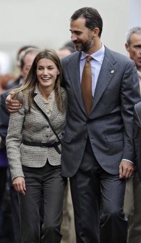 La Princesa Letizia en los Premios Príncipes de Asturias VII