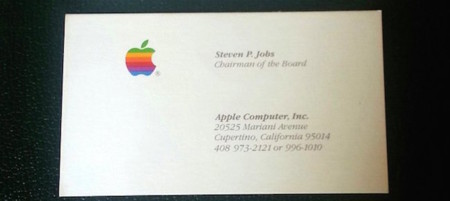 Un pedazo de historia perteneciente a Steve Jobs sale a subasta