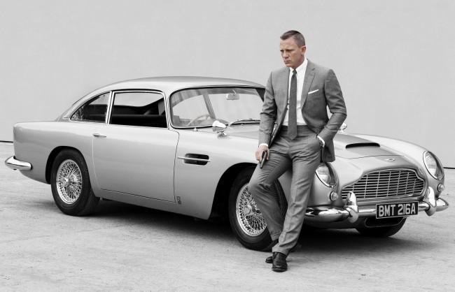 Daniel Craig en la piel de James Bond para Spectre