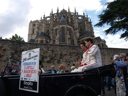 24 Horas de Le Mans 2011. El Driver's Parade