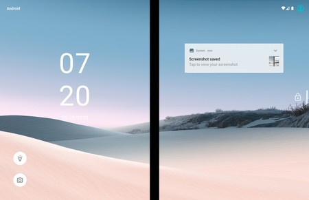 Surface Duo Lockscreen