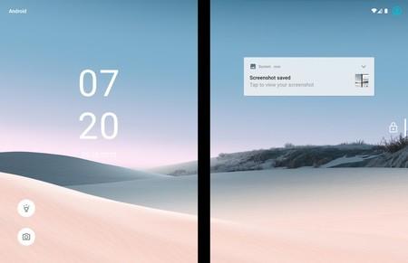 Surface Duo Lockscreen