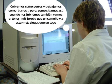 Obligaciones del empresario respecto a los riesgos por el uso de ordenadores en oficinas y despachos