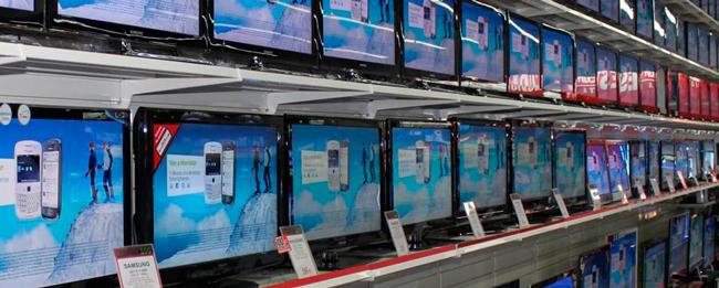Exposición televisores