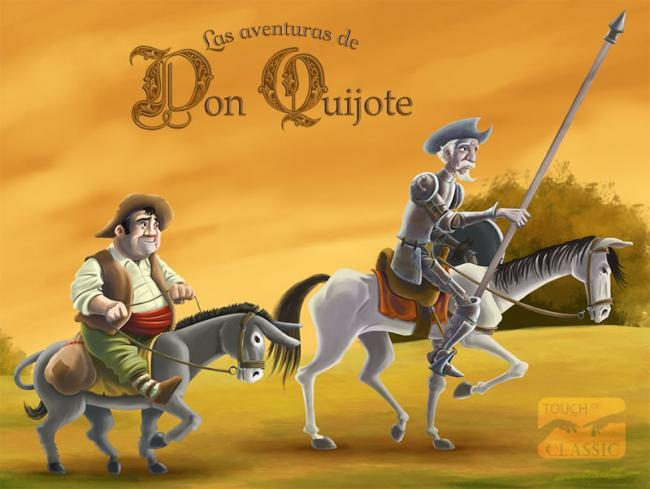 Don Quijote touch of Classic Android