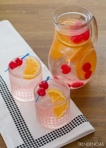 Paseo por la gastronomía de la red: recetas de bebidas refrescantes
