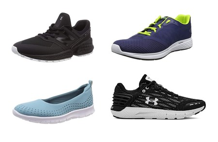 Chollos en tallas sueltas de zapatillas Clarks, Under Armour, Asics y New Balance en Amazon