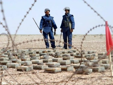 Convierte tu teléfono en un detector de minas antipersonas