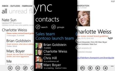 Windows Phone 7.5 también tendrá novedades enfocadas a la productividad