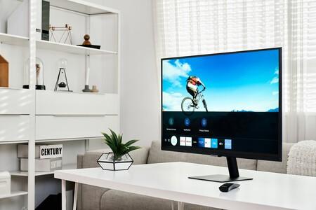 Samsung Smart Monitor M5 y M7: dos nuevas pantallas con Tizen que son un híbrido entre monitor y televisor