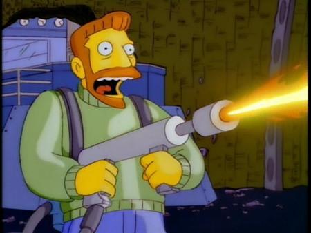 Especial Los Simpson - Hank Scorpio