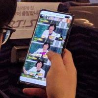 Se filtra la primera foto real del Samsung Galaxy S10 Plus por un descuido de un trabajador