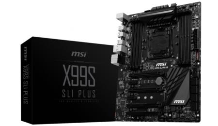 MSI X99S SLI Plus en camino, las motherboards X99 también vienen en negro