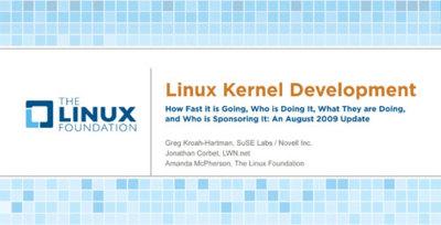 ¿Quién aporta más al kernel de Linux?