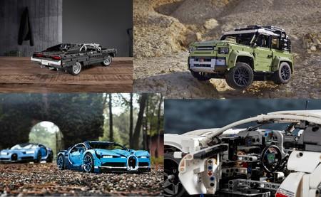 De Bugatti Chiron al Land Rover Defender 90: cinco joyas sobre ruedas de LEGO Technic para pasar la cuarentena