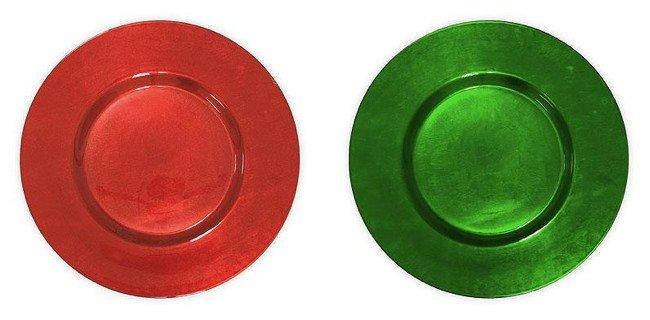 La navidad de 2010 en zara home en rojo verde y blanco - Bajo plato ikea ...