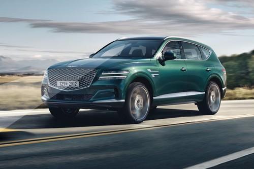 El Genesis GV80 es un nuevo SUV premium que sueña ser un Bentley coreano