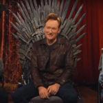 Desde el Trono de Hierro Conan O'Brien juega a Overwatch con las estrellas de Juego de Tronos