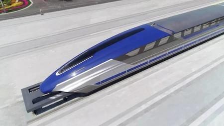 Así es el tren Maglev chino que promete alcanzar los 600 km/h en 2021, gracias a la levitación magnética