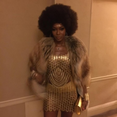 Halloween 2015 Celebrities Naomi Campbell