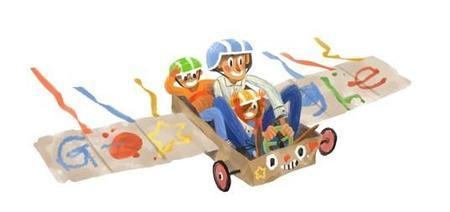 El doodle para el Día del padre 2014