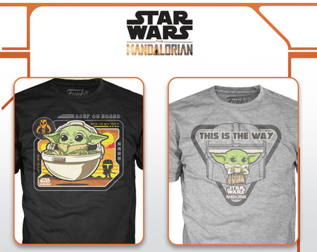 The Mandalorian Camisetas 02