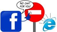 Otro más: el chat de Facebook no se podrá usar en Internet Explorer 6