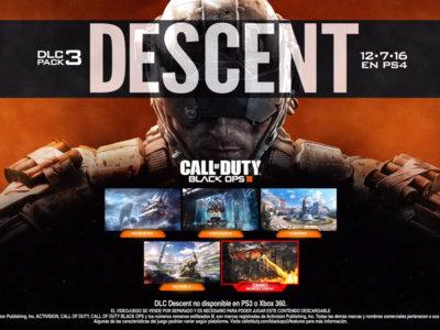 Combates contra dragones en Descent, el tercer DLC de Call of Duty: Black Ops III