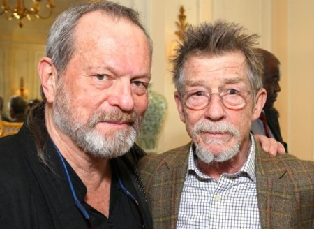 Terry Gilliam y John Hurt